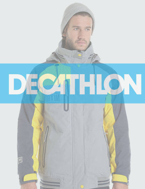 Мужской пуховик Decathlon (Декатлон)