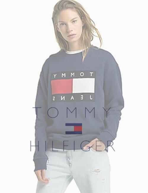 Женский свитшот Tommy Hilfiger (Томми Хилфигер)
