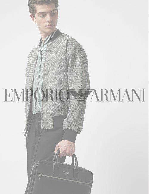 мужская куртка бомбер Armani (Эмпорио Армани)