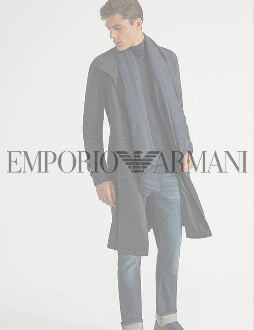 мужское пальто Armani (Эмпорио Армани)