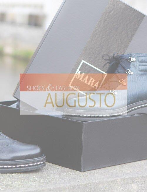 Зимняя женская итальянская обувь Augusto