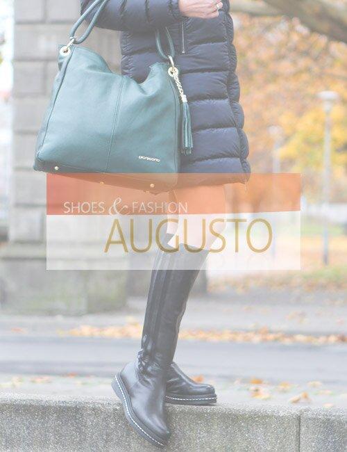 Осеняя женская итальянская обувь Augusto