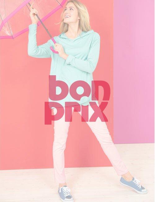 Девушка с зонтом Bonprix