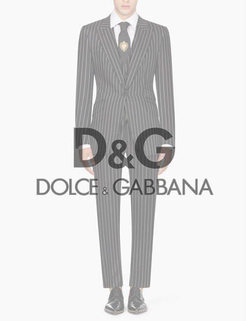 мужской костюм Dolce & Gabbana (Дольче & Габбана)